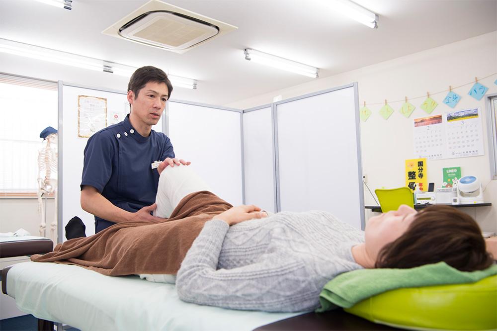 ひざの痛みの治療