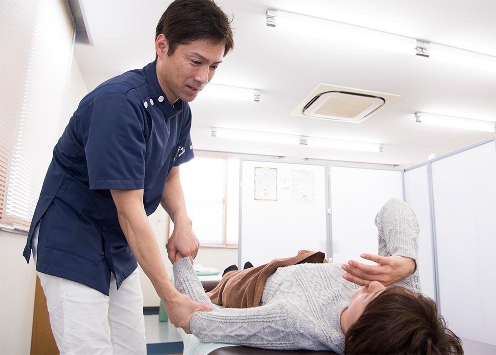 国分寺整骨院の五十肩治療